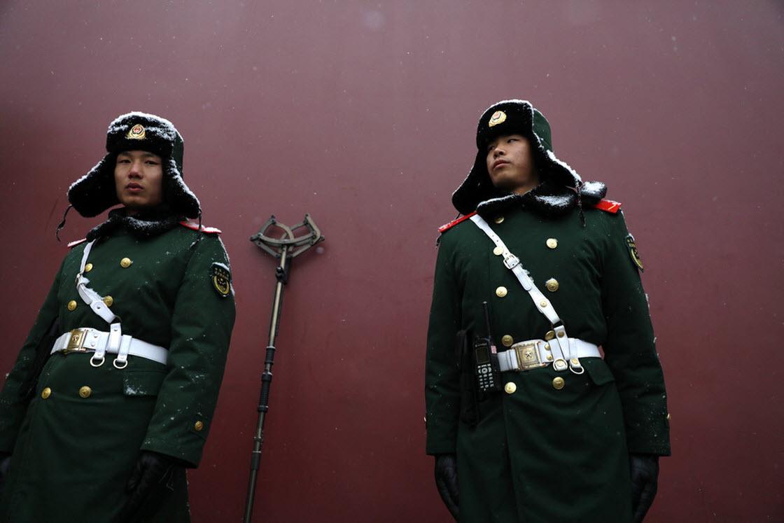 Февральские кадры из Китая культура