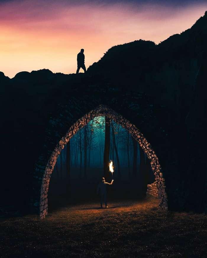 Креативные фотоманипуляции Мурата Демира Интересное