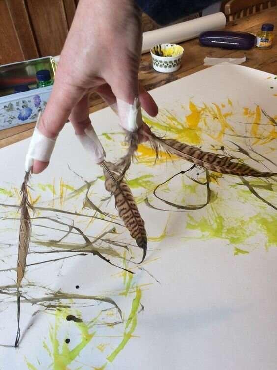 20+легчайших способов почувствовать себя художником   Интересное