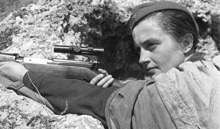 История лучшего снайпера времен Второй мировой Интересное