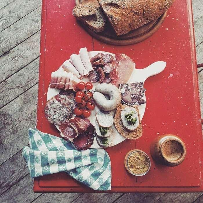 Из тарелки в объектив: как фотографы возвели еду в культ Интересное