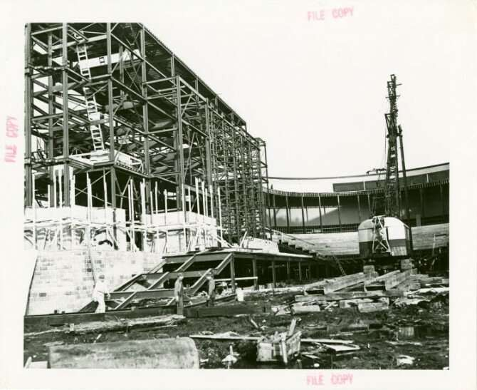 Строительство и демонтаж советского павильона на Всемирной выставке 1939 г. в Нью-Йорке   Интересное