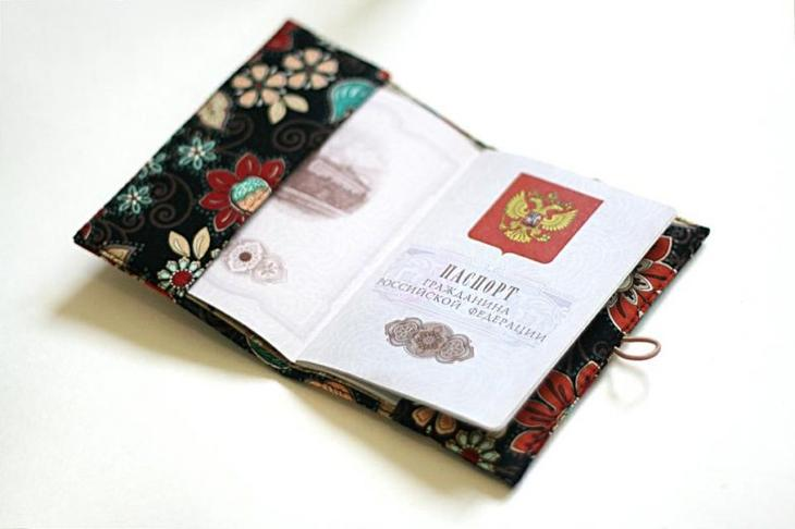 Шьём обложку на паспорт обложка на паспорт