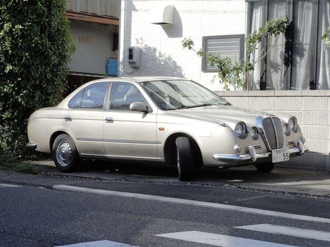 Отвал башки или кто делает самые чудовищные автомобили в мире Mitsuoka Ryoga