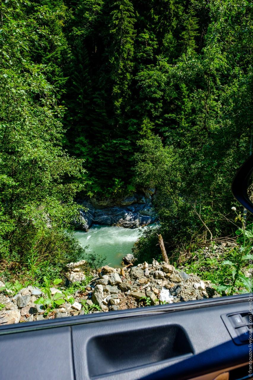 Ущелье Большой Лабы Абхазия