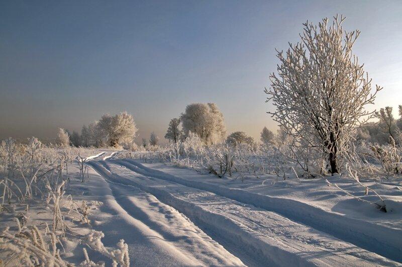 Очарование русской дороги