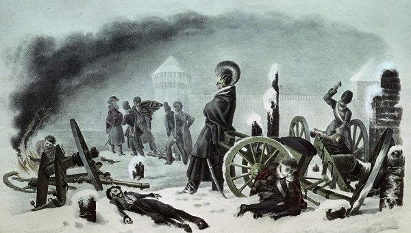 Наполеон Бонапарт. Страдания о России Дальние дали