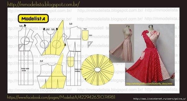 Платье-трансформер 50-х годов: новое, хорошо забытое старое женские хобби