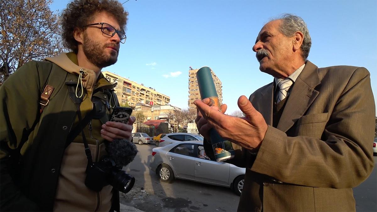 Как относятся в столице Сирии к русским