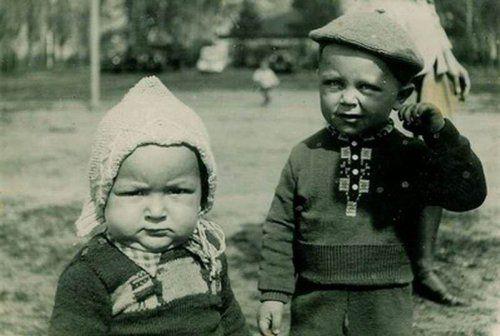 Когда политики были детьми
