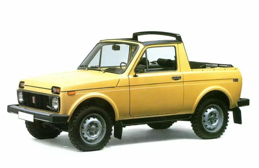 Как немцы из нашей «Нивы» кабриолеты делали авто