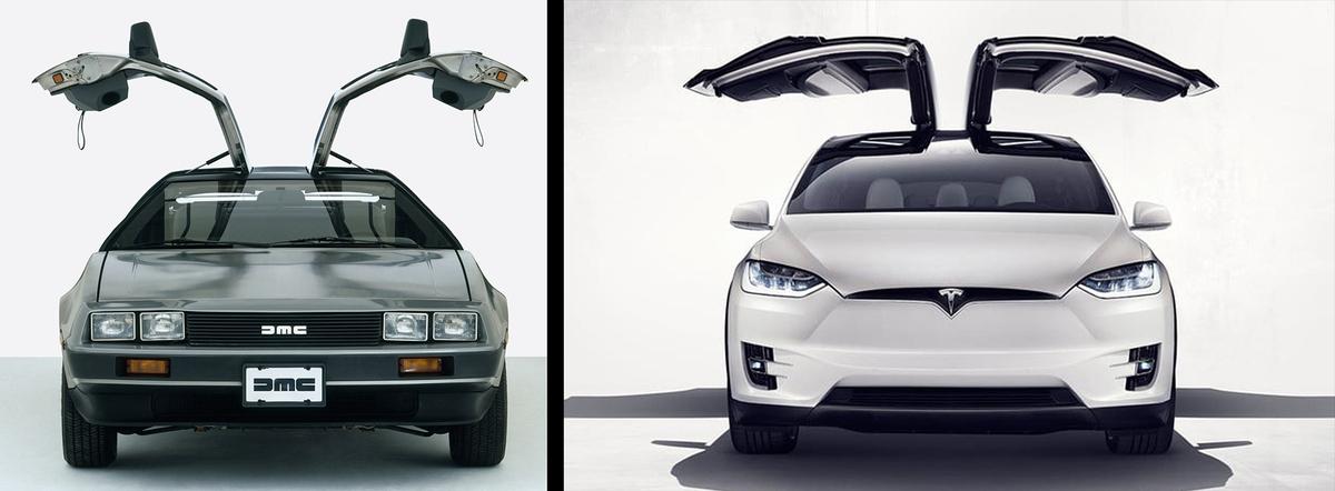 В приложении Tesla нашли отсылку к «Назад в будущее» tesla