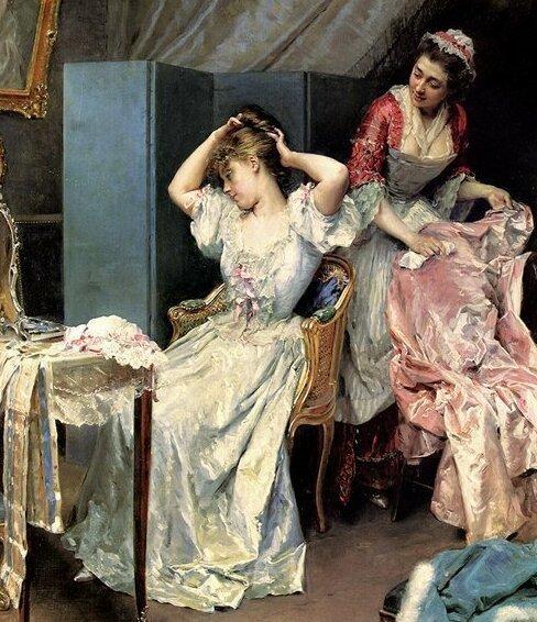 После бала: как в старину ухаживали за одеждой