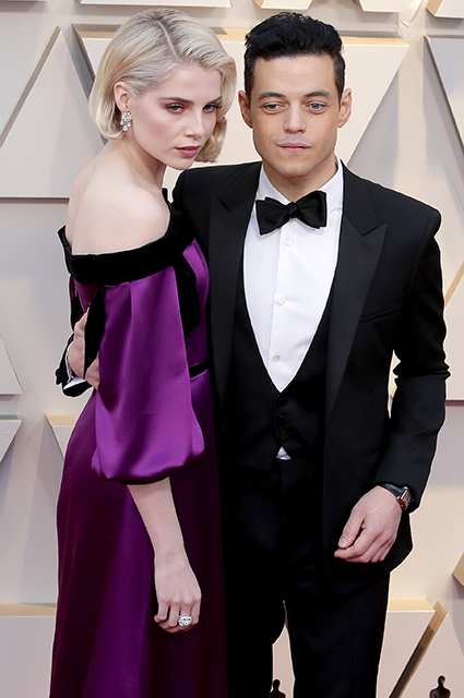 Оскар-2019: Люси Бойнтон и Рами Малек на красной дорожке Красная дорожка