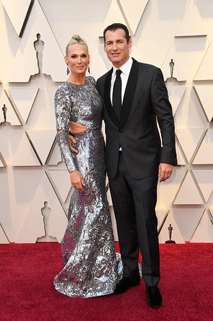 Оскар-2019: Молли Симс и Скотт Стубер на красной дорожке Красная дорожка