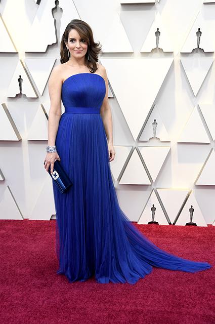 Оскар-2019: Тина Фей на красной дорожке Красная дорожка