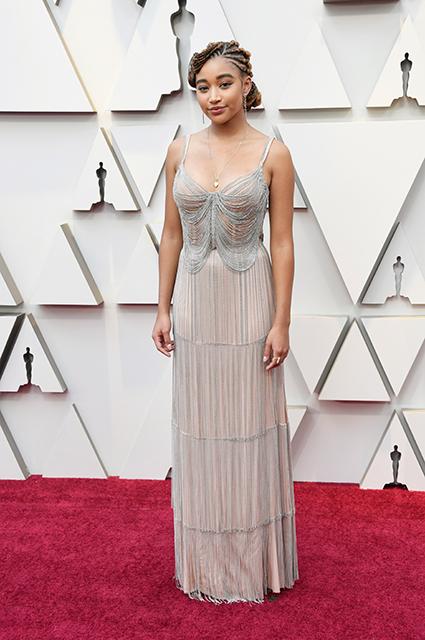 Оскар-2019: Амандла Стенберг на красной дорожке Красная дорожка