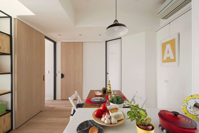 Творческий интерьер: удобная квартира, которая заряжает энергией интерьер и дизайн