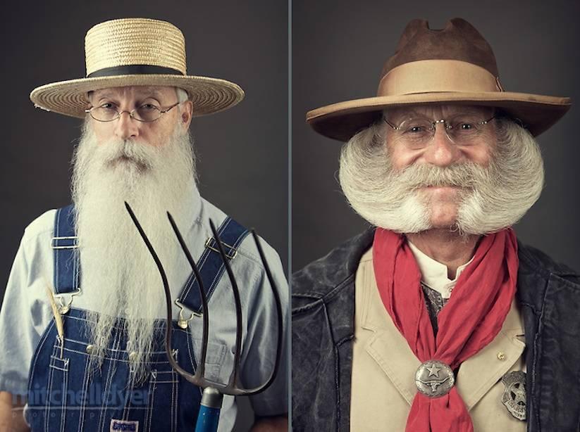 Портреты самых впечатляющих бород и усов с конкурса National Beard and Mustache Championships борода